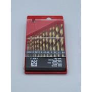 جعبه مته 6.5 - 1.5 طلايي 13 پارچه کاتکس Cuttex