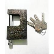 قفل کتابي رنگ چکشي بدون روکش سايز 850 ايساتيس ISATIS